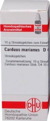 DHU Carduus marianus D4, 10 g Globuli