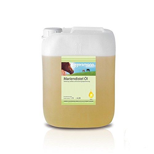 Eggersmann Mariendistel-Öl für Pferde, 1-er Pack (1 x 4.5 kg)