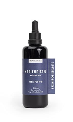 MARIENDISTEL KRÄUTERELIXIER/TINKTUR - 100 ml - Mariendistel frei von Pflanzenschutzmitteln oder anderer chemischer Zusätze