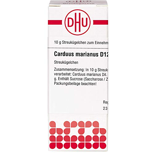 DHU Carduus marianus D12 Streukügelchen, 10 g Globuli