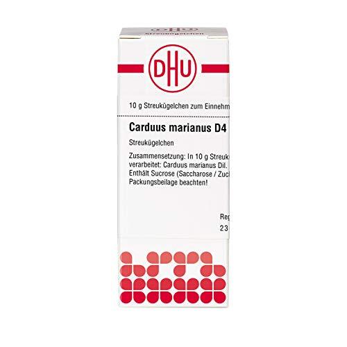 DHU Carduus marianus D4 Streukügelchen, 10 g Globuli