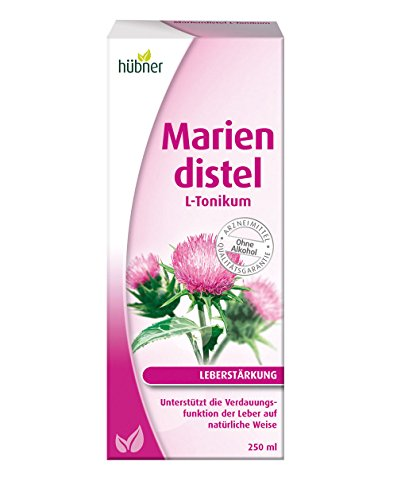 Hübner Mariendistel L-Tonikum zur Leberstärkung (250 ml)