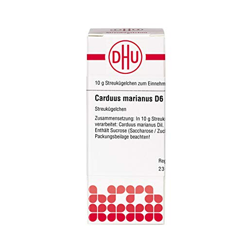 DHU Carduus marianus D6 Streukügelchen, 10 g Globuli
