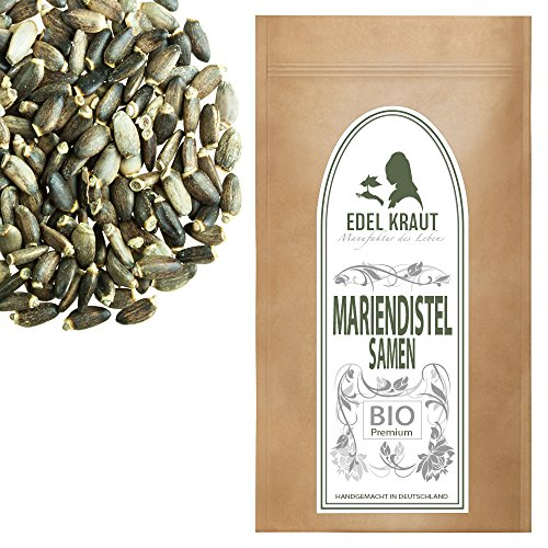 EDEL KRAUT | BIO MARIENDISTELSAMEN - Premium Milk Thistle Seed Organic 1000g